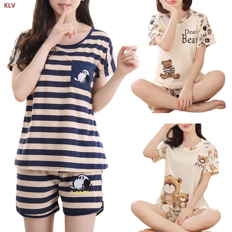 Short Sleeve Cotton Nightwear