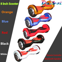 USA Stock 8 Inch Two Wheels Electric Scooters Self Balancing Scooter Bluetooth Hoverboard Hover Board With