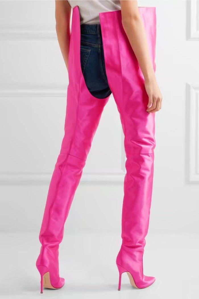 2017 Stiletto Extremo Botas Pic Largo Tacones Boot Cintura Celebrity Nueva Llegada Pic Alta Nightclub Entrepierna Mujeres As Altos Zapatos as Moda rAqxPr