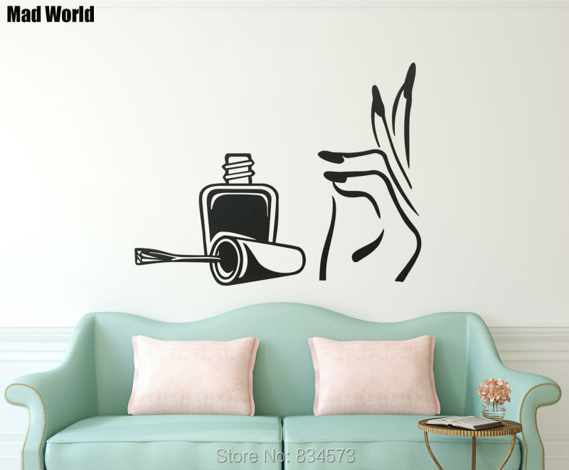 Wall Stickers for Salon