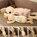 Crianças boneca de pelúcia bonito do coelho travesseiro forma Bebê acompanhar sono travesseiro lovely baby's ragdoll Crianças cama travesseiro