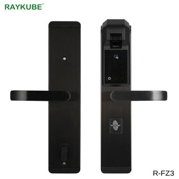 Raykube Digit Fingerprint Door Lock Keyless Entry Smart Anti Theft
