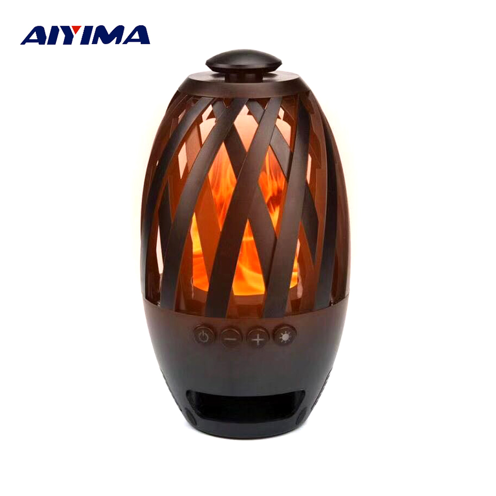 Altavoz 28aiyima Holiday Flame Gift Portable Lamp Xiaomi Mp3 For Led Enceinte In Speaker Player Bocina Bluetooth Speakers Us25 jSARL5qc34