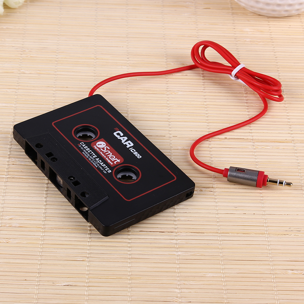 Car Tape Cassette Aux Adapter 3.5mm Jack Plug Mp3 Player Converter For iPod iPhone Android MP3