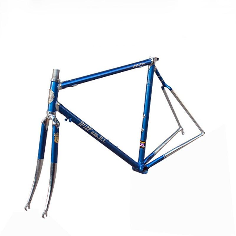 4130 Chrome molybdenum steel fixie frame road bike frame 700 C frame 48 cm 50 cm 52 cm 54 cm road Bike frame DIY цена