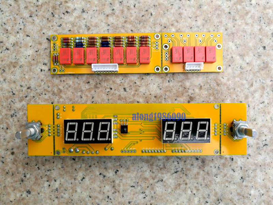 Assembeld HIFI Remote Preamplifier Board Audio Volume Control Board cs3310 remote preamplifier board with vfd display 4 way input hifi preamp remote control digital volume control board page 3