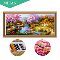 2016 New 5D Diamond Embroidery Dream Home Diamond Painting Mosaic Painting 3D Pictures Crystal Needlework Decoration