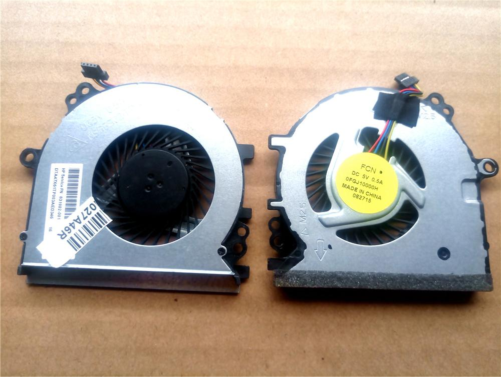 New Laptop Cooling Fan For HP Probook 430 G3 Series PN: 831902-001 0FGJ10000H NS65B02-14M02 Cooler Fans
