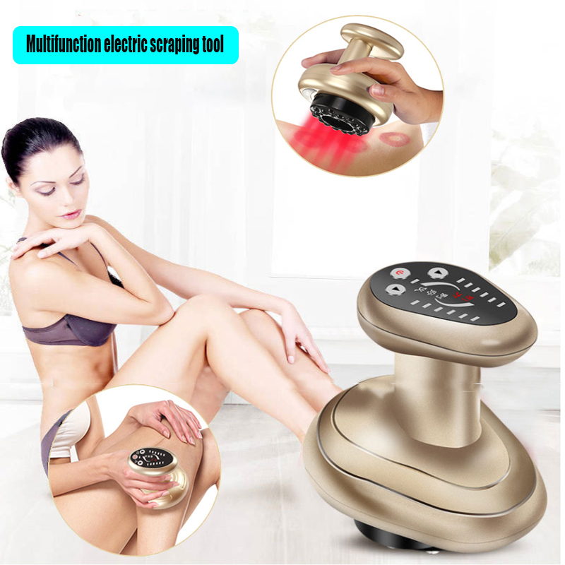 Infrared Electric Scraping Back Massager Body Slimming Cupping Guasha Massage Stimulate Acupoint Acupuncture Therapy Health Care(China)