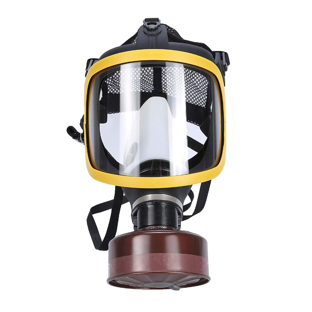 Organic Vapor Full Face Respirator With Filter Cartridge Air filter Cartridge Visor Protection Industrial Safety Gas