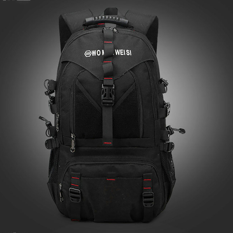 Men's Backpack Oxford Cloth Material With USB Fashion Leisure College Style High Quality Large Capacity Multi-functional Design