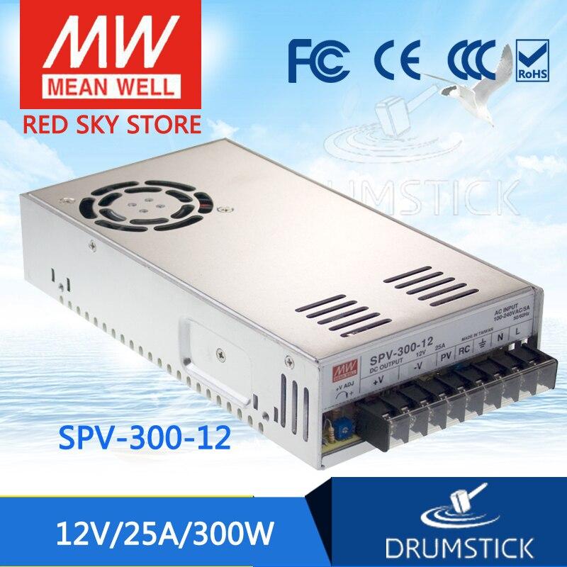 Hot-vente moyenne bien SPV-300-12 12 V 25A meanwell SPV-300 300 W sortie unique avec fonction dalimentation PFC [Real7]Hot-vente moyenne bien SPV-300-12 12 V 25A meanwell SPV-300 300 W sortie unique avec fonction dalimentation PFC [Real7]
