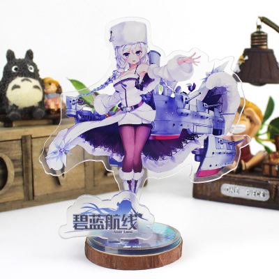 Gaming Azur Lane IJN Takao Armed Acrylic Desk Display Ornaments Standing Figures