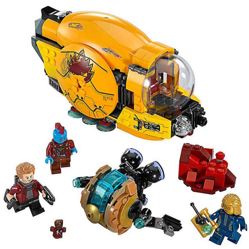 Bela 10745 Super Heroes Ayeshas Revenge Guardians of the Galaxy Ravager Building Block Toys Compatible With LegoingsBela 10745 Super Heroes Ayeshas Revenge Guardians of the Galaxy Ravager Building Block Toys Compatible With Legoings
