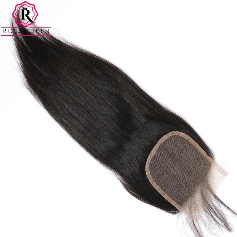 Яки прямые волосы Синтетическое закрытие шнурка волос с волосами младенца вокруг предварительно сорвал свет яки Человеческие волосы Синте...
