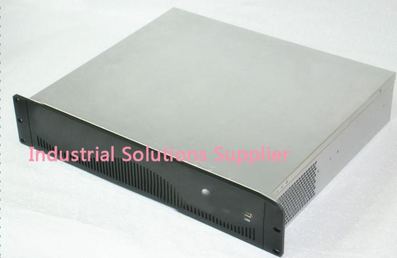 New Quality Aluminum Panel 2U Computer Case Aluminum Drawing 2U Server Computer Case Firewall Computer Case new computer case firewall ultra short 1u 420mm