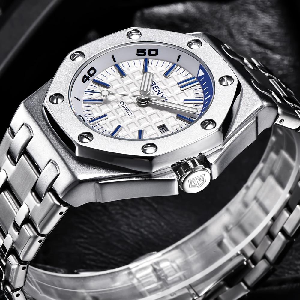 BENYAR Fashion Men Watches ManTop Brand Luxury Quartz Watch Men Stainless Steel Waterproof Sports WristWatches Relogio Masculino|Quartz Watches| - AliExpress