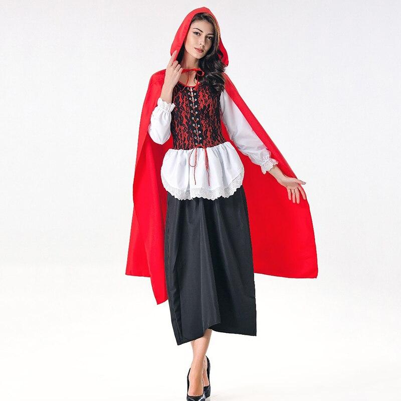 Little Red Riding Hood Leggings Pants Fancy Dress Up Halloween Costume Accessory