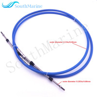 ABA CABLE 21 GY Outboard Engine Remote Control Throttle Shift Cable 21ft For Yamaha Boat Motor
