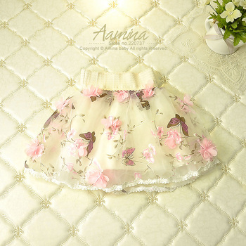 [Aamina]Petal Ruffles baby girls skirts, tutu faldas skirt,summer clothes wholesale baby boutique clothing 5pcs/lot 20-UP1340-25