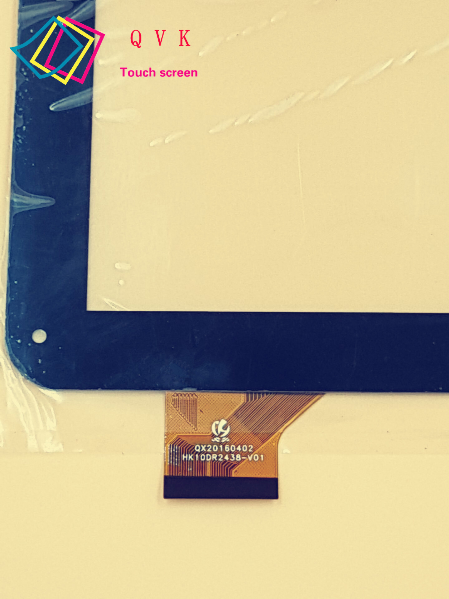 black white 10.1inch HK10DR2438  HK10DR2438-V01 external capacitive Touch screen capacitance panel For Wolder tablet pc 10 1inch ycf0464 ycf0464 a for oysters t12 t12d t12v 3g tablet pc a external capacitive touch screen capacitance panel