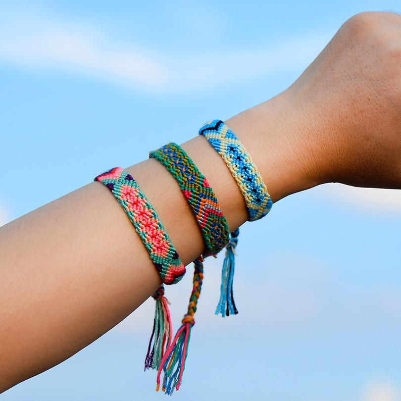 Boho Nepal Handmade Braided Bracelet