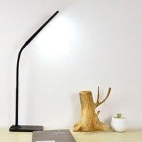 SUNLI HOUSE USB Power Book Reading Light Touch Table Light Eye Protection Desk Lamp Dimming Foldable