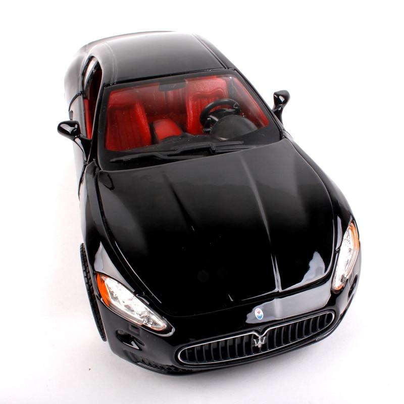 bburago 1/24 scale car model toys maserati quattroporte gt diecast