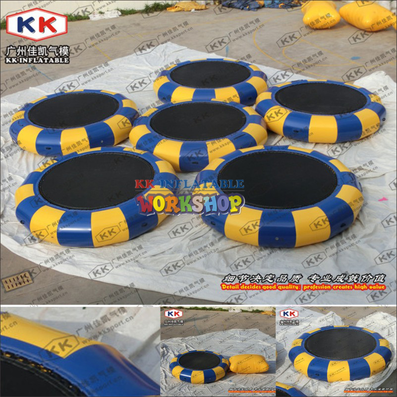 Inflatable Water Trampoline,Water Park Toys Package For Sale