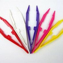 1 шт. забавные прочные детские инструменты, пинцет для детей, дизайн, случайный цвет
