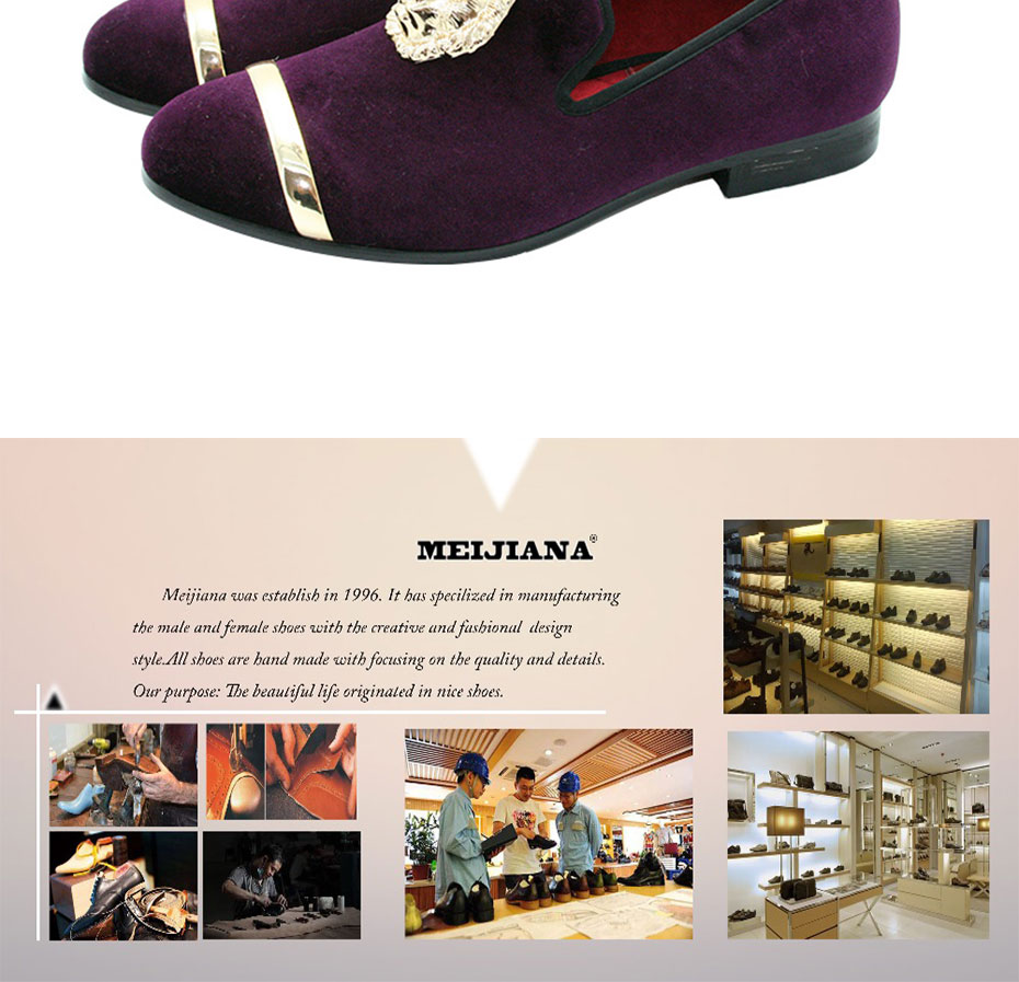 HTB1FYTEXUgQMeJjy0Fjq6yExFXag - New Fashion Gold Top and Metal Toe Men Velvet Dress shoes italian mens dress shoes Handmade Loafers
