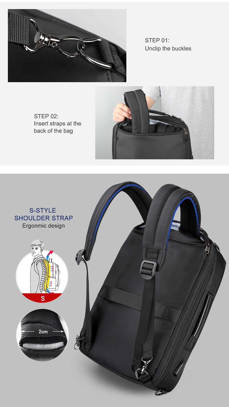 13.men business backpack