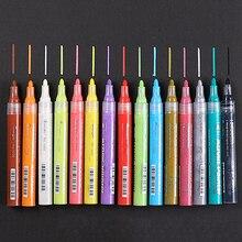 Акриловый маркер с перманентной краской ручка для поделок, керамические стекло ROCK фарфоровая кружка дерево Ткань Холст Краски ing 5 цветов