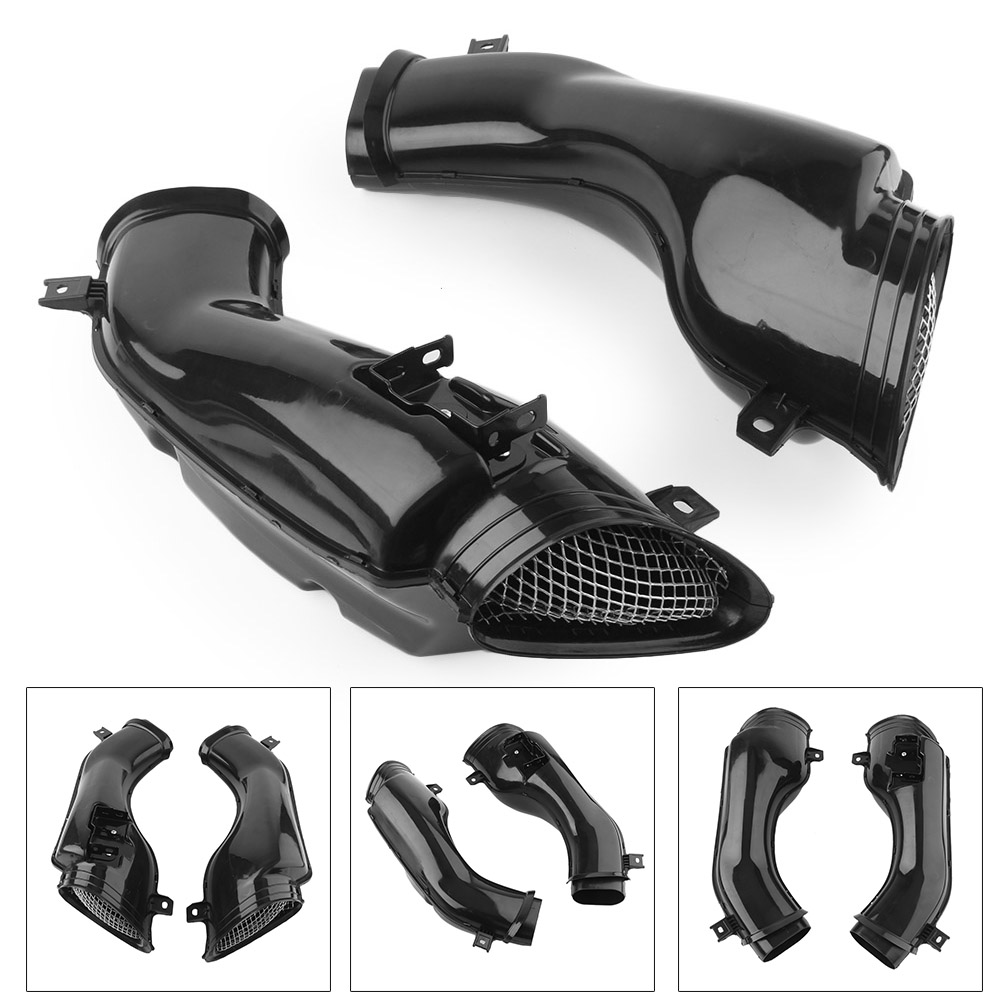 New Motorcycle Ram Air Intake Tube Duct For <font><b>Suzuki</b></font> GSXR1000 <font><b>GSXR</b></font> <font><b>1000</b></font> 2001 <font><b>2002</b></font> K1 Black image