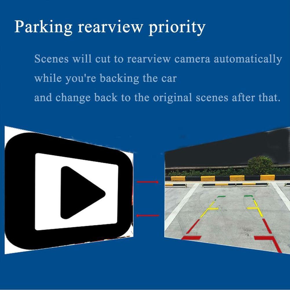 3,5 zoll 480*272 TFT LCD Auto Monitor Auto TV Auto Rückansicht Kamera Monitor Unterstützen Backup Reverse Monitor auto DVD Bildschirm