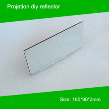 1 piece 160*90*2mm Mini Projector diy Reflector Projector Mirror accessory for p