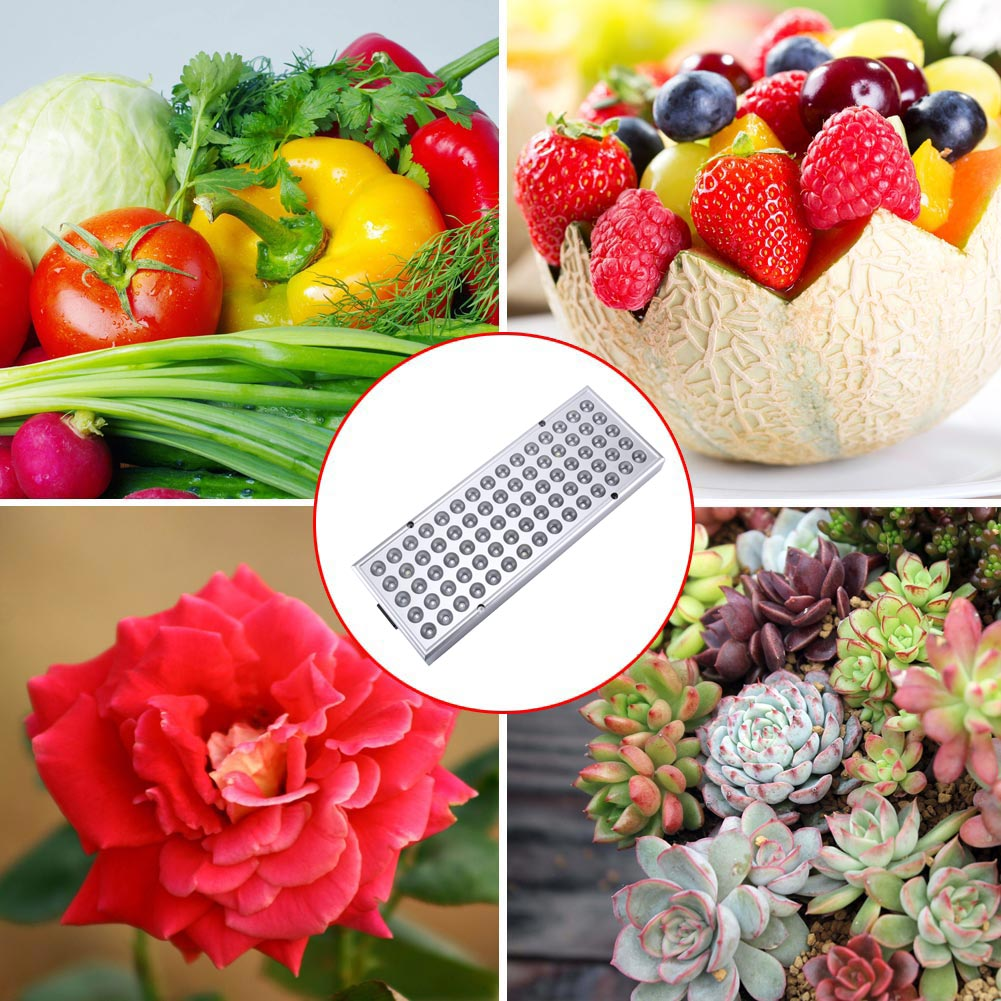 LED Plant Grow Light Lamp Full Spectrum 25W For Flower Seeds Greenhouse Indoor HYD88