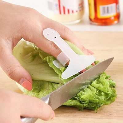 1 CÁI Nhà Bếp Phụ Kiện Nấu Ăn Các Công Cụ Ngón Tay Tay Bảo Vệ Chop Safe Slice Knife Miễn Phí vận chuyển