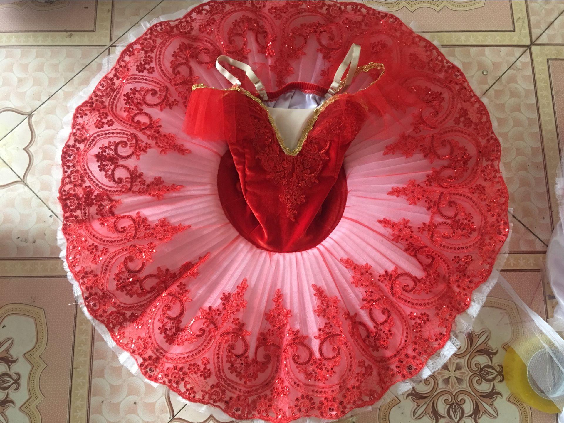 Giselle Tutu paillettes adulte lac des cygnes Ballet danse Costume pour filles femmes crêpe Tutu enfant patinage ballerine robe B-6565