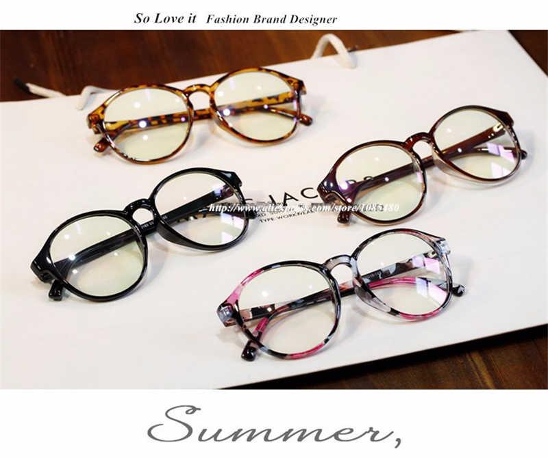 c5a63625795 ... Fashion Retro Grade Round Eyewear Frames Male Lady Female Eye Glasses  Frames For Women Men Degree ...