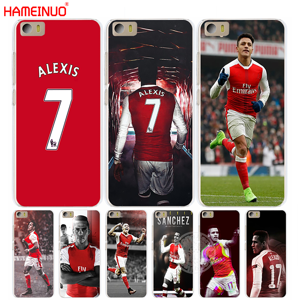 HAMEINUO alexis sanchez 7 soccer star Cover phone Case for Xiaomi M Mi 3 4 5 5S 5C 5X 6 Mi3 Mi4 4S 4I 4C Mi5 NOTE MAX