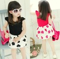 baby girl clothes summer dress with fly sleeve foral printed dress girls clothes