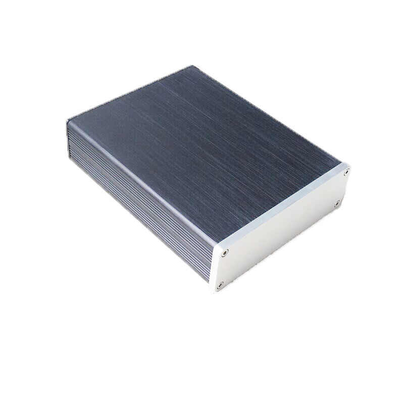 132*42*169 Mm Case 1304 Mini Aluminium Penuh Powe Amplifier Chassis/Amplifier Ca'se/DAC Decoder AMP Kandang/Box DIY