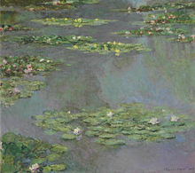 Claude Monet Impressionist Water Lily Pond Landscape Poster Print Canvas Oil Painting Home Wall Art Decoration Suppliers painting the impressionist landscape