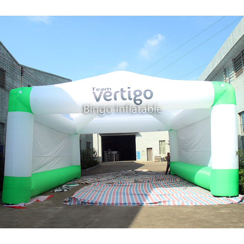 Outdoor Event used 8*10M Inflatable Tunnel Tent / Inflatable Event Tent / Inflatable Party Tent for Party Event Show outdoor toy