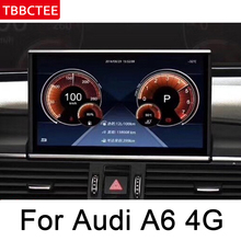 For Audi A6 4G 2011~2018 MMI IPS Android 8.0 up Car Multimedia Player GPS Navigation Original Style HD Screen WiFi Head unit map