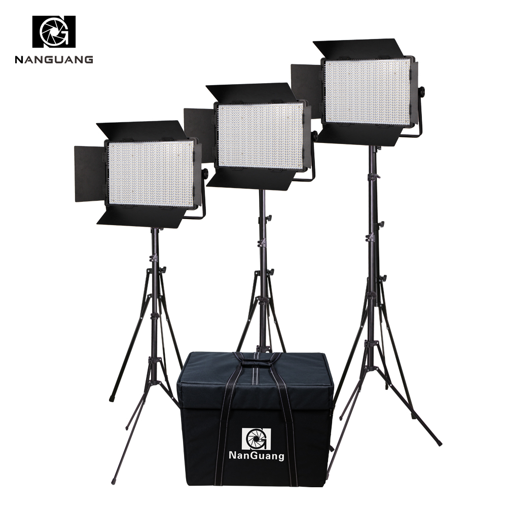 Portable 72W 1200 led Continuous Photographic Light Studio lighting Kit with Stand and Carrying Bag portable photo studio 4 photographic backgrounds 1 camera stand 2 halogen lights w carrying bag