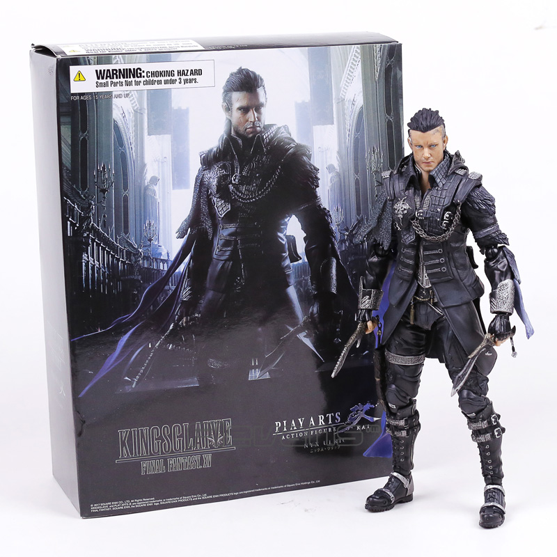 VARIANT Paly Arts KAI Final Fantasy XV 15 Kingsglaive Nyx Ulric PVC Action Figure Collectible Model Toy with Retail Box все цены