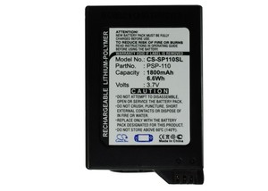 Cameron Sino 1800mAh Battery PSP-110 for Sony PSP-1000, PSP-1000G1, PSP-1000G1W, PSP-1000K, PSP-1000KCW, PSP-1001, PSP-1006(China)