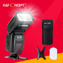 K&F CONCEPT KF885 Wireless Speedlite Camera Flashlight GN58 Quick Recycle Time High Speed Universal For Canon Nikon PK Yongnuo